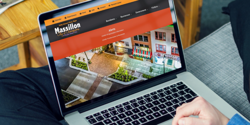 Massillon website mockup crop