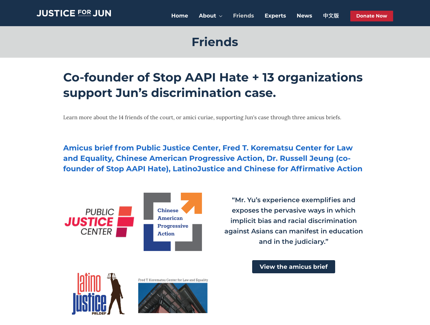justice for jun friends